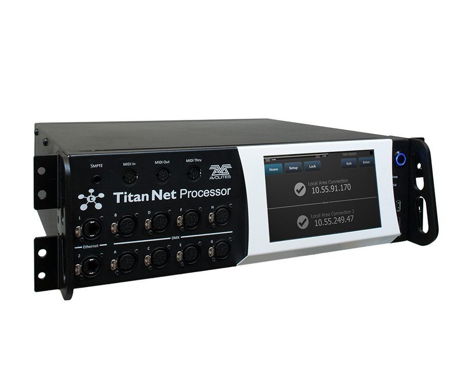 Avolites TitanNet Processor