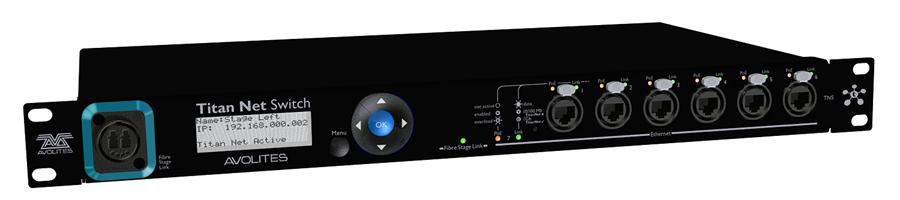 Avolites Optical Titan Net Switch