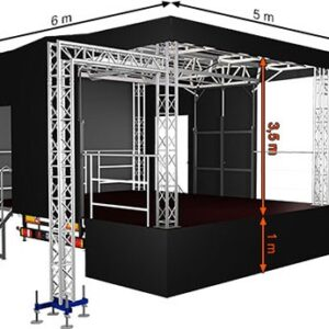 Alspaw standard small mobile stage