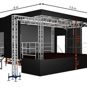 Alspaw standard middle mobile stage