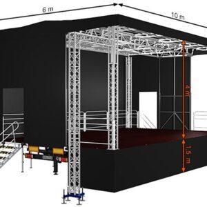 Alspaw standard big mobile stage