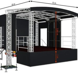 Alspaw profiled small mobile stage
