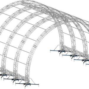 Alspaw Tunnel roof system