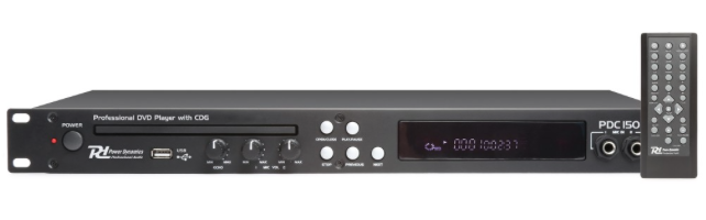 Power DynamicsPDC150 19'' DVD player with CD+G and USB