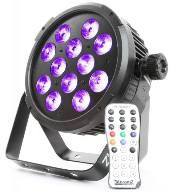 BeamZ BT300 FlatPAR 12x 12W 6-in-1 LEDs