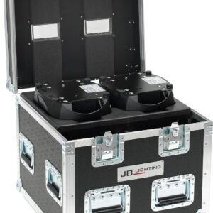 Flight case for 2 Sparx 10