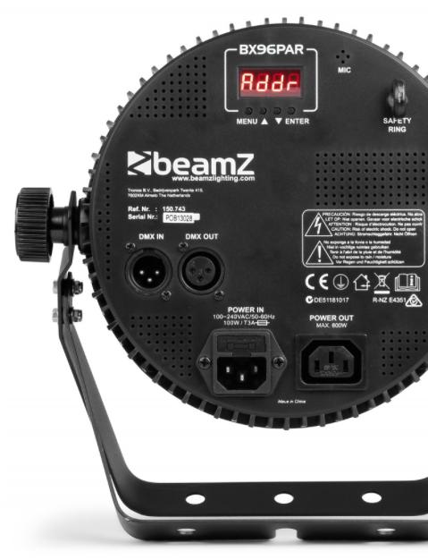 BeamZ BX96 PAR