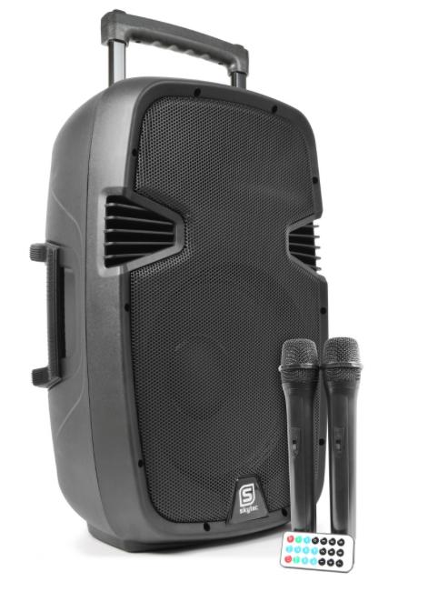 SPJ-PA912 Portable Sound System ABS 12 2 VHF/USB/MP3