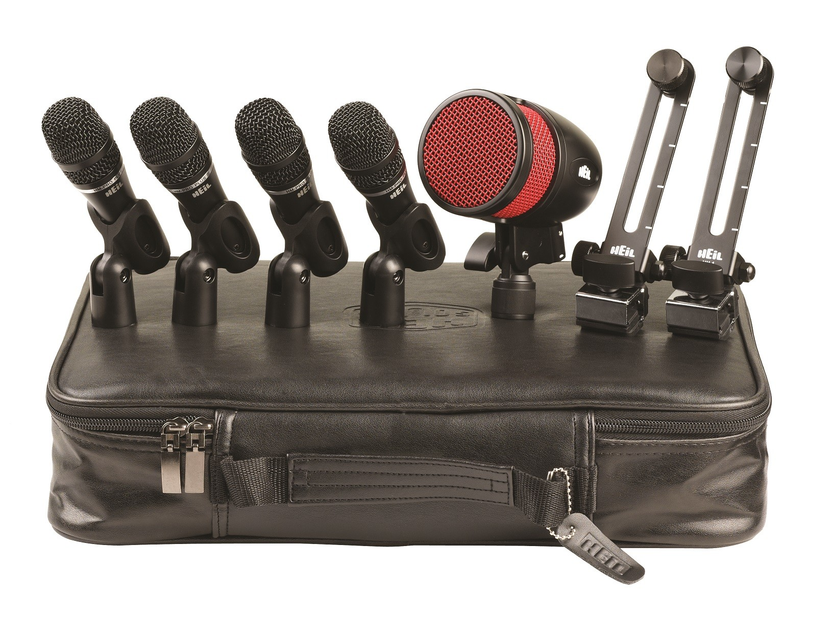 HDK-8 8 Piece Drum Microphone Kit