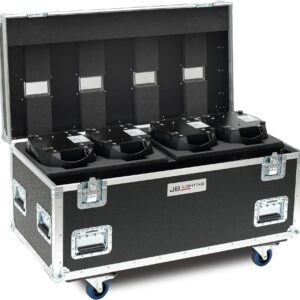 Flight case for 4 A8